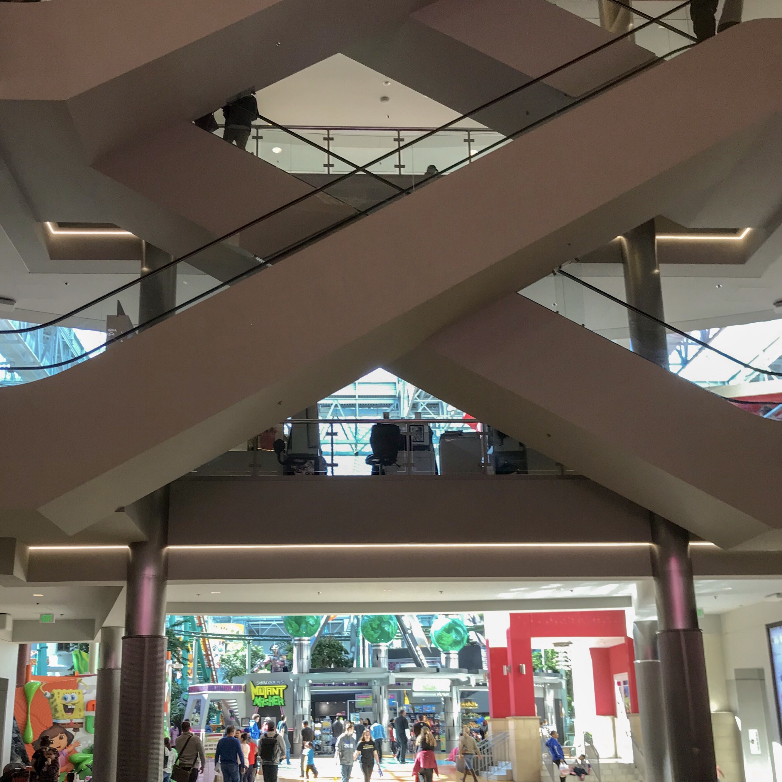 MOA Escalators