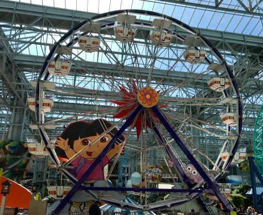 Nickelodean Universe Dora Ferris Wheel